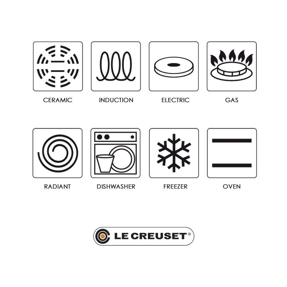 Le Creuset 25138350600422 - Tajín de hierro colado esmaltado, 4,50 l, 6/10 personas, 35 cm de diámetro, color cereza