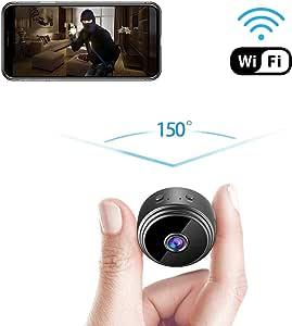 GXSLKWL Spy Hidden Camera, HD 1080P Hidden Camera Small Video Recorder Home Security Surveillance Cameras Covert Tiny Nanny Cam (Color : No Memory Card)