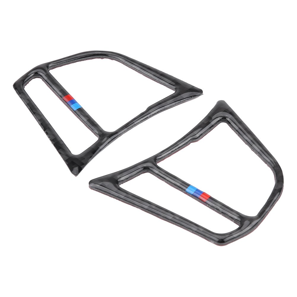 #2 Steering Wheel Button Frame Cover Trim Sticker Decor for BMW F30 3 Series 2013-2018