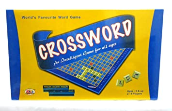 Buy Ekta Crossword Board Game Multicolour Online At Low Prices In India