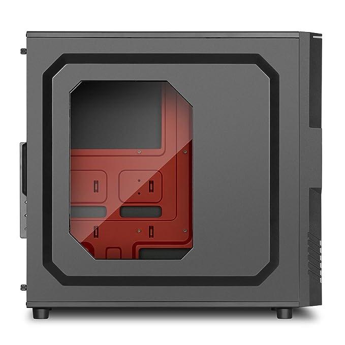 Sharkoon T3-W Carcasa de Ordenador Midi ATX Tower Negro ...