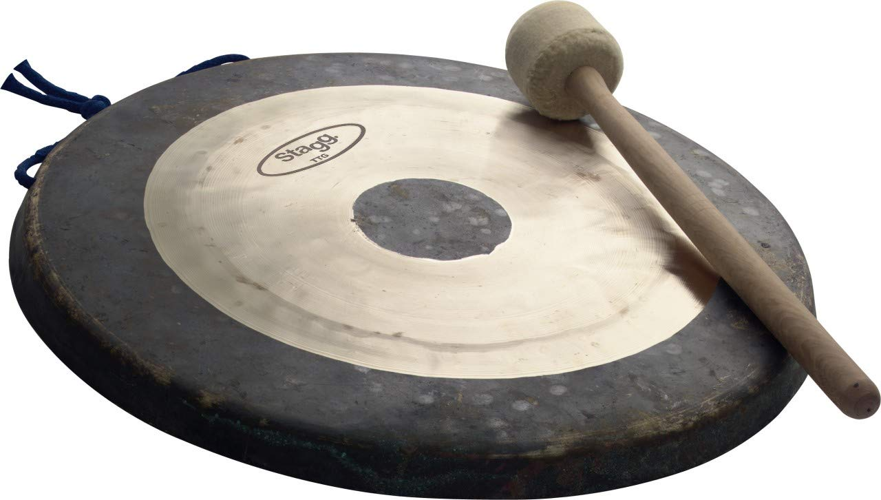 Stagg TTG-18 18-Inch Tam Tam Gong with Mallet