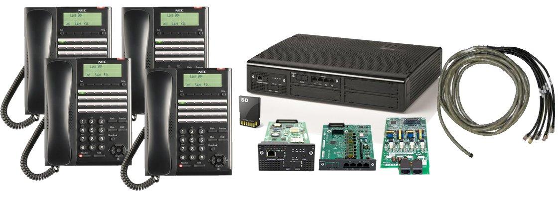 Amazon com : NEC SL2100 Digital Quick Start Kit with 4 Port