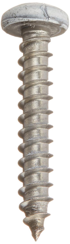 White Piece-20 8 x 1 Hard-to-Find Fastener 014973208059 Shutter Screws