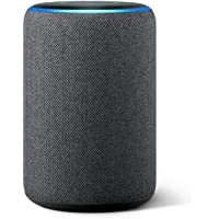 All-new Echo (3rd Gen) - Smart speaker with Alexa - Charcoal