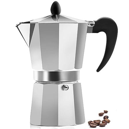 Cafetera clásica de café espresso, de Zulay Kitchen, para 6 ...