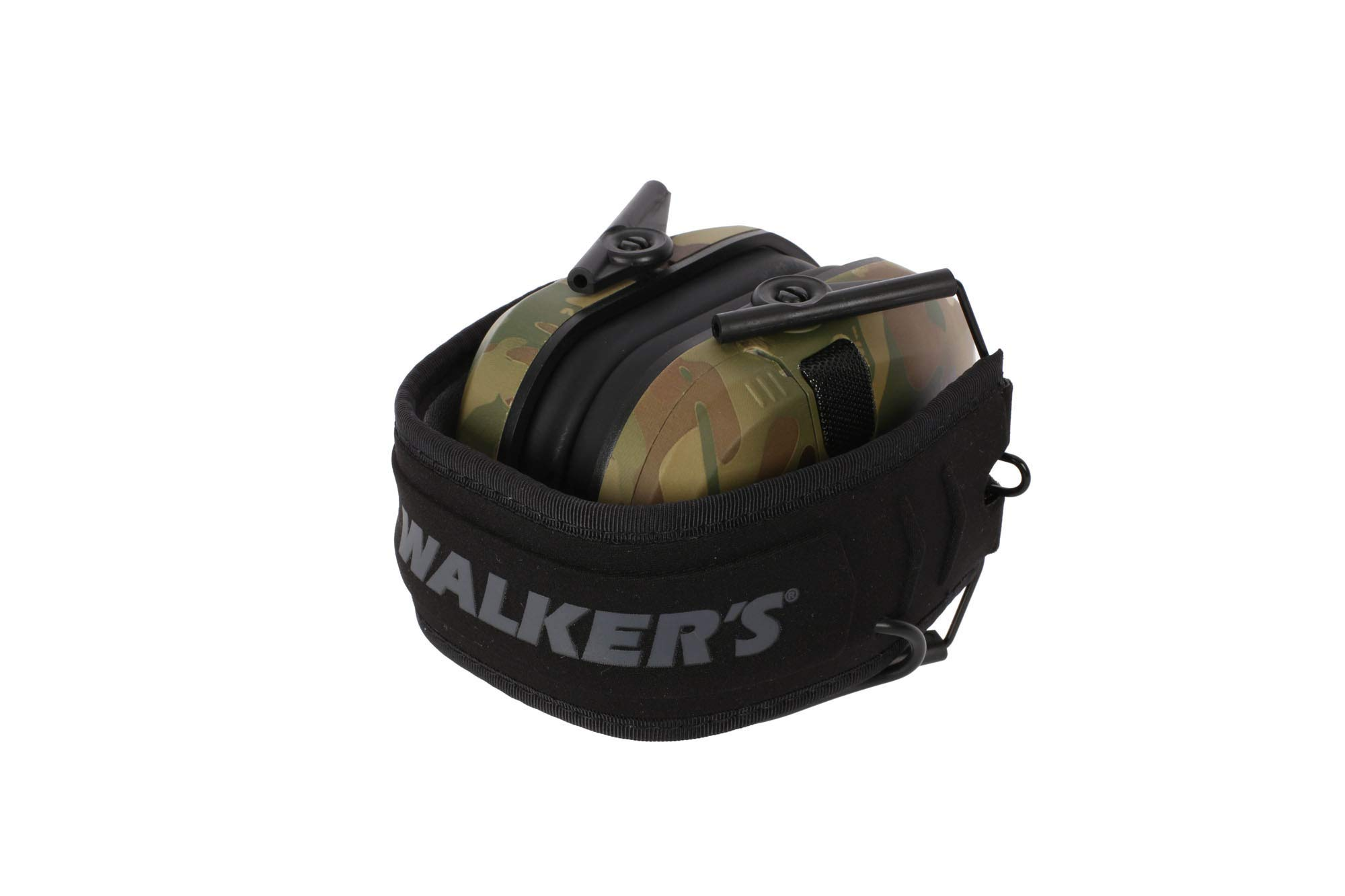 Walkers Razor Slim Electronic Shooting Hearing Protection Muff, Multicam, Tan (Sound Amplification and Suppression) with Shooting Glasses Kit by Walkers (Image #6)