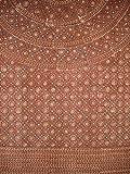 Block Print Mandala Tapestry Cotton Bedspread 108'' x 88'' Full-Queen Brown