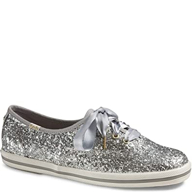 Keds x Kate Spade New York Champion Glitter Women 10 Silver Glitter
