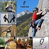 FresKaro 4inches Climbing Carabiner Clips, UIAA