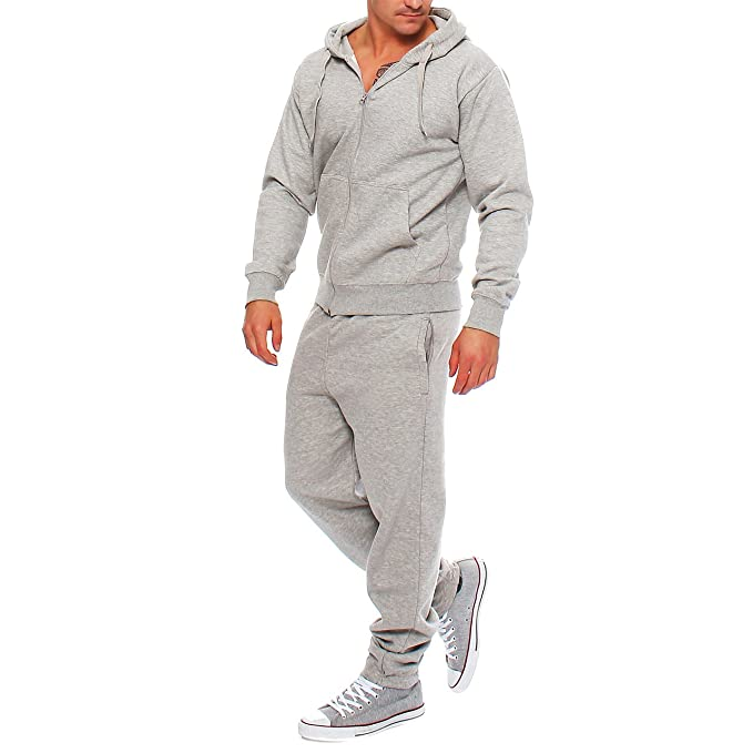 f444bb2460 Hype Inc, tuta da jogging per uomo, con felpa e pantaloni: Amazon.it ...