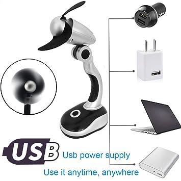 TAOtTAO Mini USB Gadgets Mini portátil Creativo USB Snakelike Ventilador de Alta Potencia portátil Ordenador de sobremesa pequeño Ventilador: Amazon.es: ...