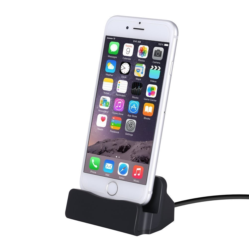 iPhone Stand Charger Dock Stat...