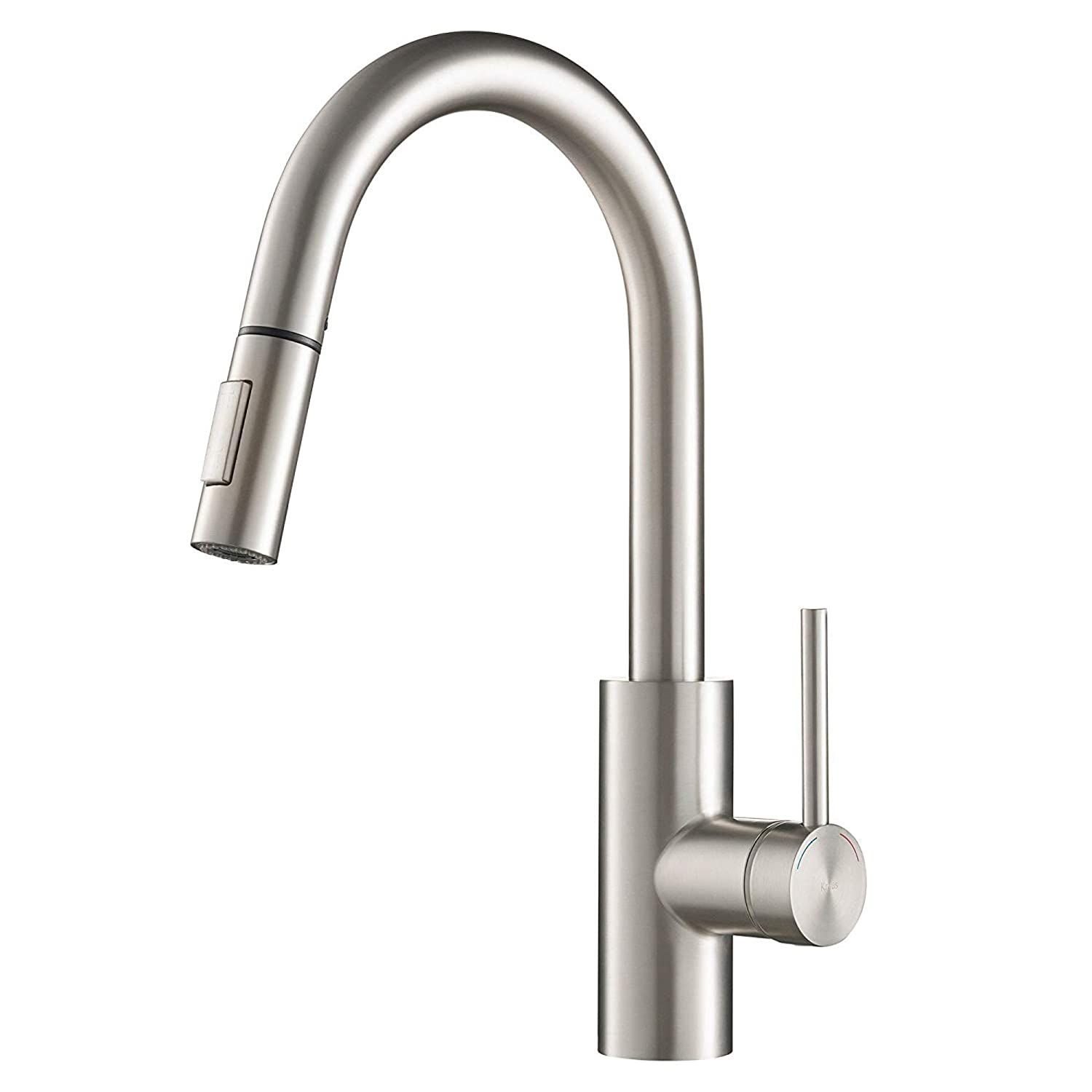 KRAUS KPF-2620SFS Oletto Kitchen Faucet, 15.75 inch, Spot Free Stainless Steel