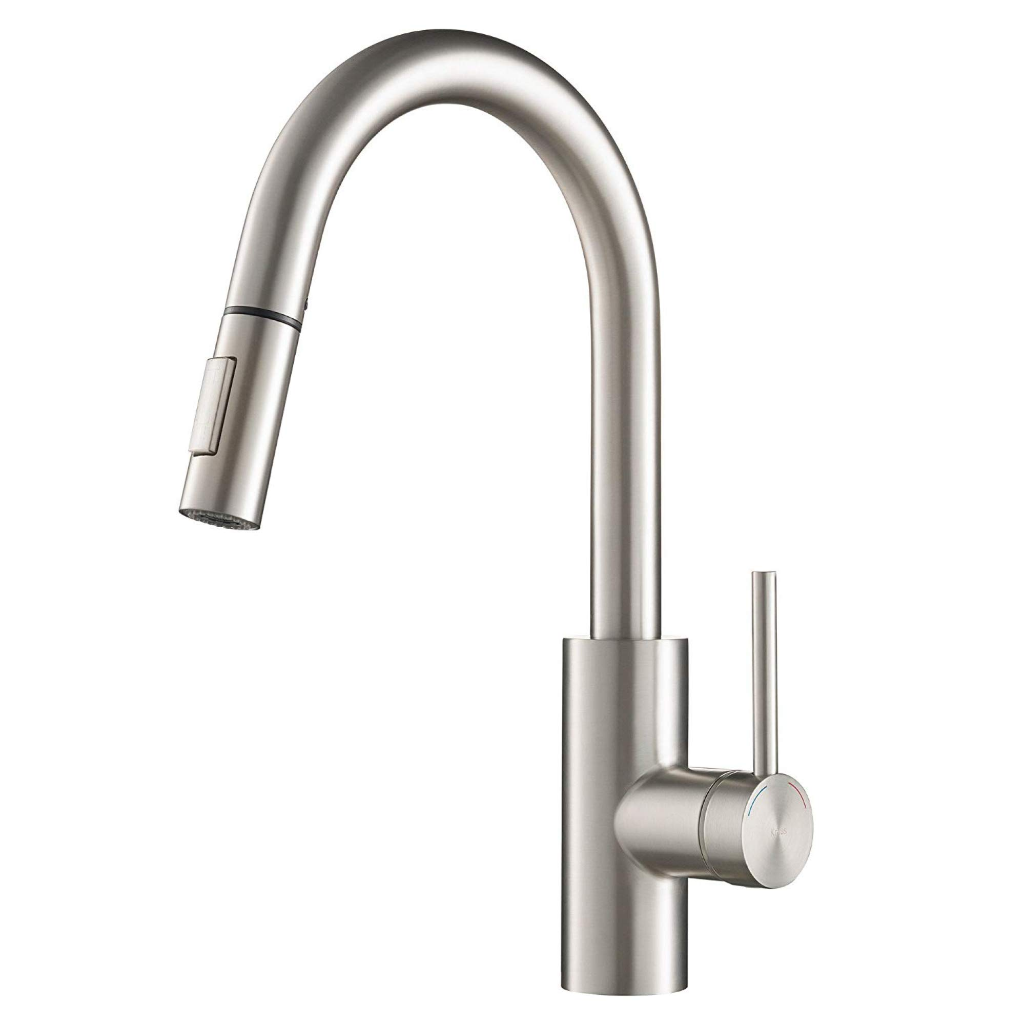 Kraus KPF-2620SFS Oletto Kitchen Faucet, 15.75 inch, Spot Free Stainless Steel by Kraus