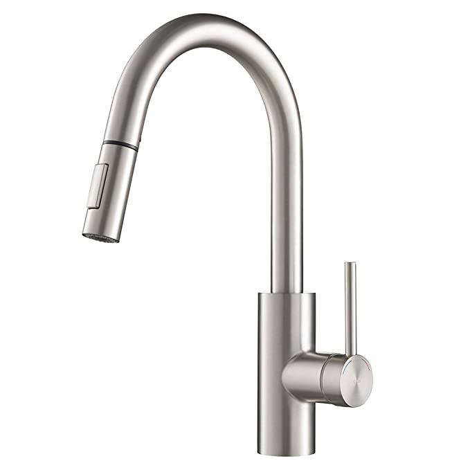 Best Kitchen Sink Faucets: KRAUS KPF-2620SFS Oletto Kitchen Faucet