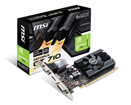 MSI GT 710 2GD5 LP GeForce GT 710 2GB GDDR5 - Tarjeta ...