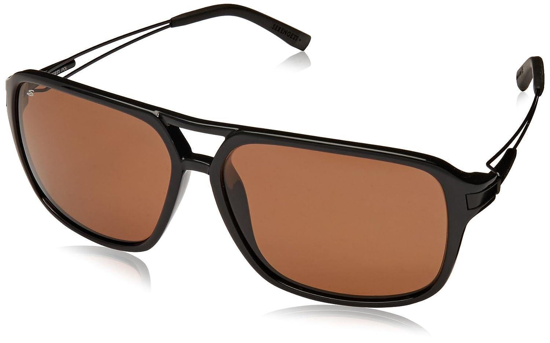 Serengeti Venezia Polarized Sunglasses, Shiny Black ST8192   B00P1H0RZK