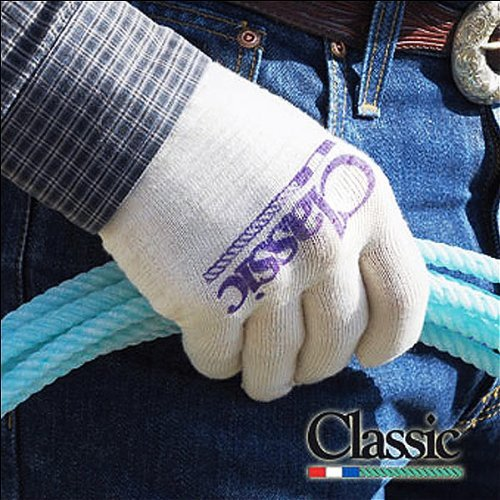 (CLASSIC Equine Deluxe Roping Glove 3 Pack Success in Your Hands (Medium))