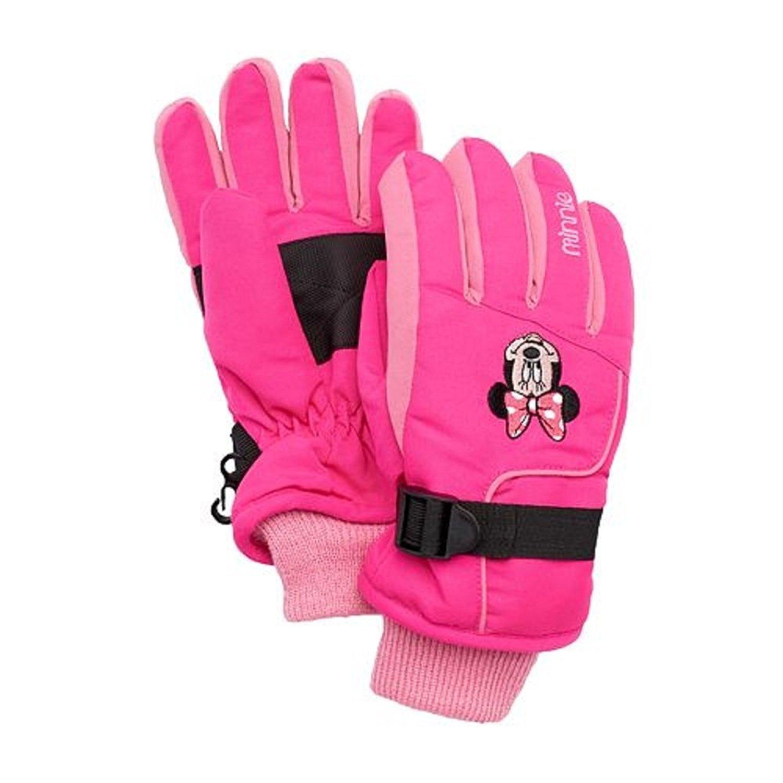 Disney's Minnie Mouse Ski Gloves   Girls 4 16 Pink Girls 4 16 by Kohl's