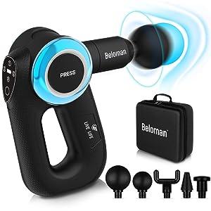 Beloman Muscle Massage Gun with Adjustable Arm