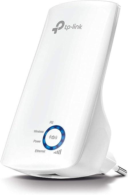 Comprar TP-Link N300 Tl-WA850RE - Repetidor Extensor de Red WiFi (2.4 GHz, 300 Mbps, Puerto Ethernet, Modo Ap y Extensor, Antenas Internas), Blanco