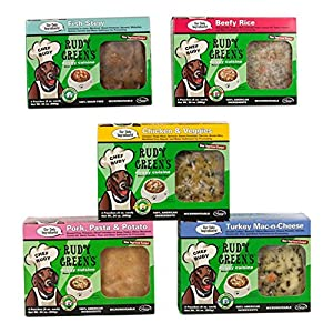 Rudy Green'S Doggy Cuisine Home Cooking For Dogs Variety Pack Frozen Human Grade Dog Food 5 Boxes (7.5 Lbs Total,  20 Pouches Each 6 Oz) 3