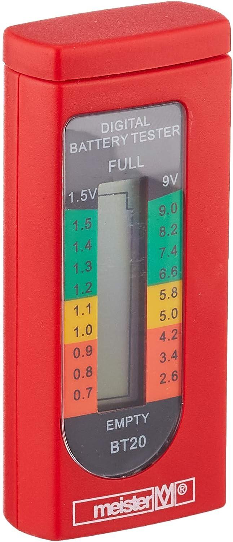 Jacksking Batterietester tragbare Digitale 1,5 V 9 V elektrische Batterietester Messdiagnose Checker Analyzer Batterie Checker