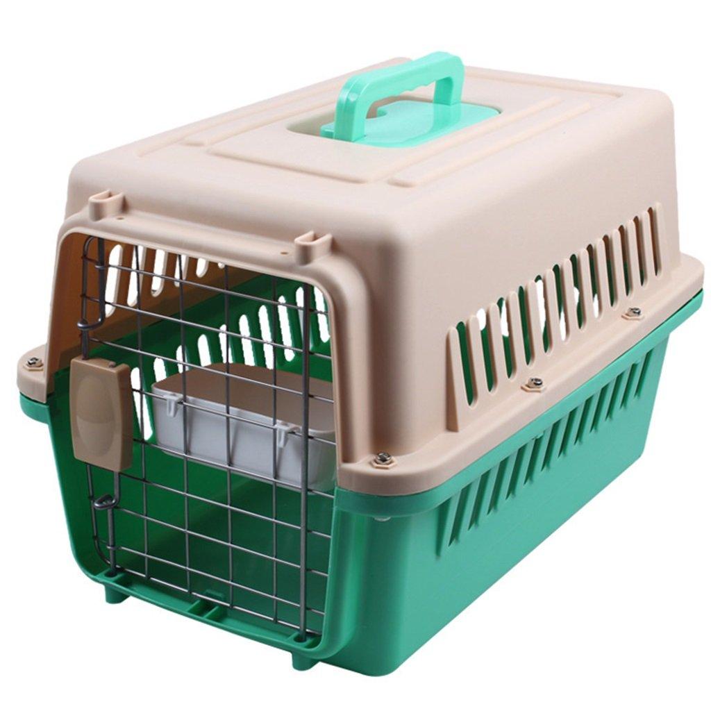 D XL (90x64x69cm)XIAOPING Pet Air Box Pet Cage Portable Out Transport Cat Cage Pet bed (color   E, Size   L (81x57x60 cm))