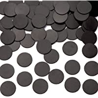 Baker Ross Large Self - Adhesive Magnetic Discs (Pack of 100) 25mm Magnetic Disks for Kids Arts and Crafts
