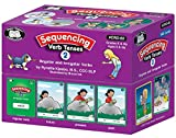 Sequencing Regular and Irregular Verb Tenses Set 2 Fun Deck Flash Cards Early Reader - Super Duper Educational Learning Toy for Kids