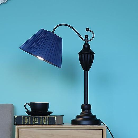 LI JING SHOP - Lámparas de tela europeas Lámparas de hierro ...