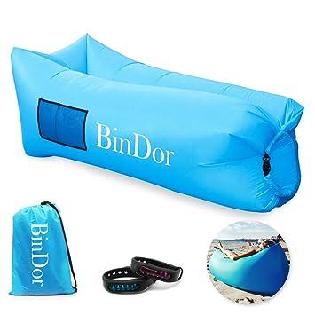 Amazon.com: Bindor - Sillón hinchable de aire para sofá ...