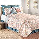 C&F Home Seabrook Twin 2 Piece Quilt Set Twin Tan