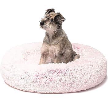 PENGYANZHOU Cama para Gatos Donut, Camas para Perros de Piel ...
