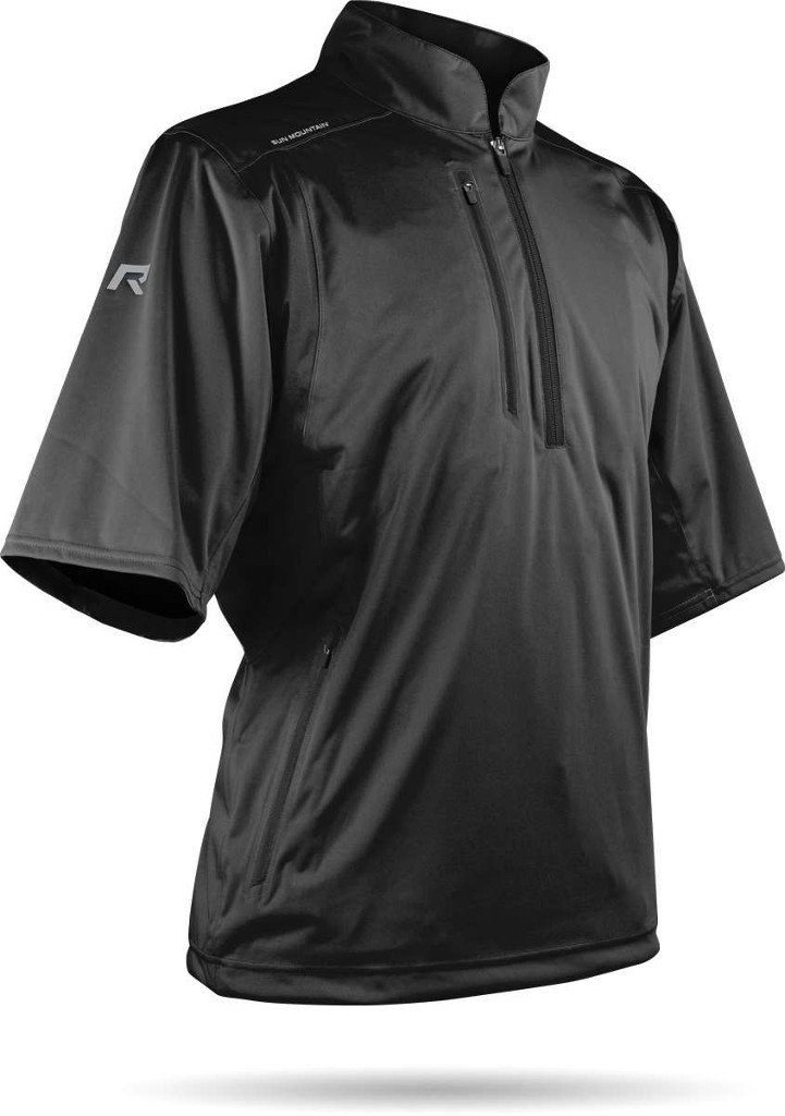 Sun Mountain Rainflex SS Pullover - Black (Large) by Sun Mountain