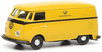 Schuco 452641100 452641100 Color Amarillo Maqueta de Volkswagen T1c DP Escala 1:87