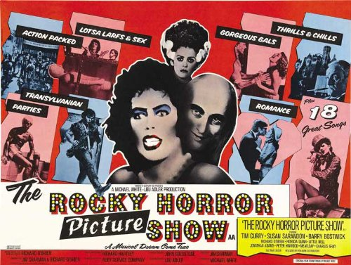 The Rocky Horror Picture Show Poster 30x40 Tim Curry Susan Sarandon Barry Bostwick