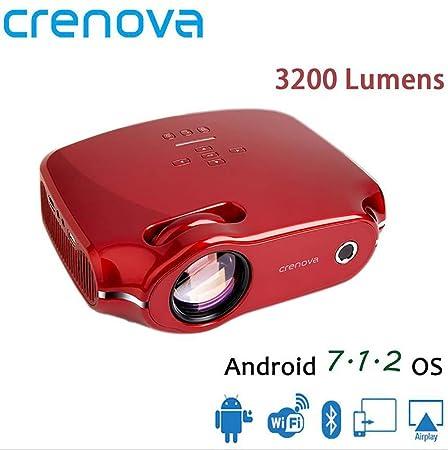 Proyector Android CRENOVA XPE498 Mini WiFi teléfono móvil Oficina ...