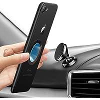 Handyhalterung Auto Magnet, laxikoo KFZ Magnet Handyhalter 360 Grad Einstellbare Smartphone Halterung Auto für iPhone Xs /X /8 / 7, Samsung S9 S8, Huawei