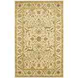 Kitchen Rugs At Wayfair Safavieh Antiquities Collection AT14A Handmade Traditional Oriental Ivory Wool Area Rug (4' x 6')
