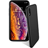 UGREEN iPhone X Case iPhone Xs Protector Liquid Silicone Phone Case Soft Edges Shockproof and Anti-Drop Protection Case Slim Thin Case for iPhone X/Xs 5.8 Inch - Black