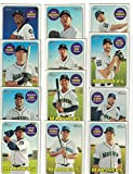 Seattle Mariners / Complete 2018 Topps Heritage Baseball 12 Card Team Set! Includes 25 Bonus Mariners Cards!