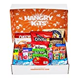 HANGRY KIT - Essential Kit -Sweet and Salty Snack Care Package - Gift Pack - Variety of 40 Chips, Candies & Cookies Included