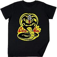 Vendax Cobra Kai Dojo - Cobra Kai Niños Chicos Chicas Unisexo Camiseta Negro
