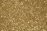 50'' by 10 yards Material: Sequins on Taffeta base GLITZ Sequins Fabric Bolt - Gold