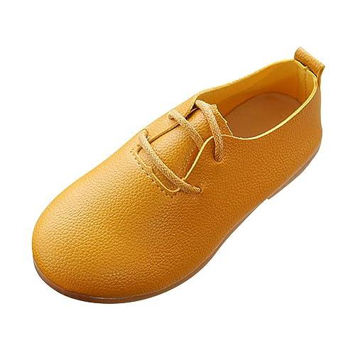 Gtagain Zapatos Mocasines Niña - Zapatos de Vestir Cabeza Redonda Cómodas Dulce Ocio Princesa Suave Escolar Zapatos de Cuero para Niños: Amazon.es: Zapatos ...