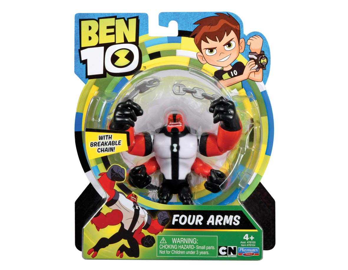 Ben 10 70740401 Ben10 Actionfiguren 13cm Krake (Four Arms) Spielfiguren