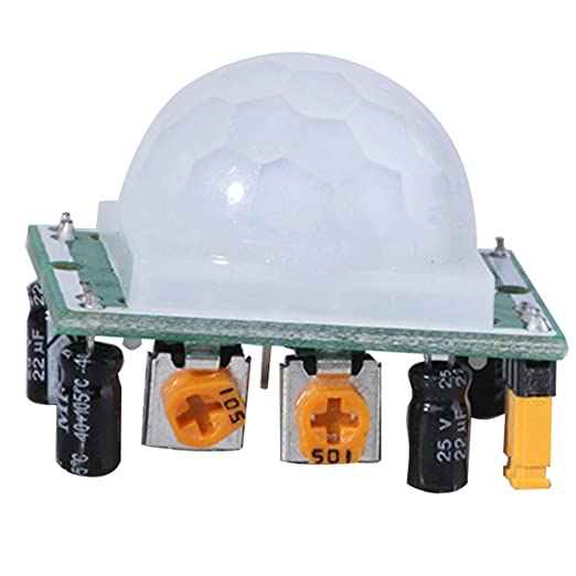 Emy 5 x HC-SR501 Ajuste IR piroeléctrico infrarrojo PIR Motion Sensor Detector módulos: Amazon.es: Bricolaje y herramientas