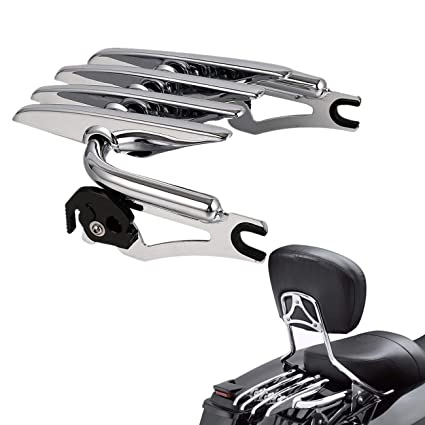 Motorcycle Accessories & Parts Carrier Systems Motorcycle 4 Point Docking Backrest Sissy Bar For Harley Touring Road King Electra Street Glide Flhr Flhx Flht Fltr 14-18